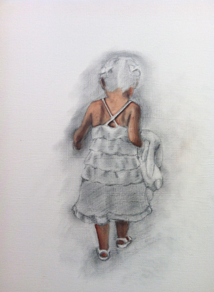 Little Miss L | onbecominganartist.com